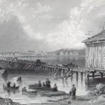 Vue de la ville de Saint-Jean sur le Richelieu
