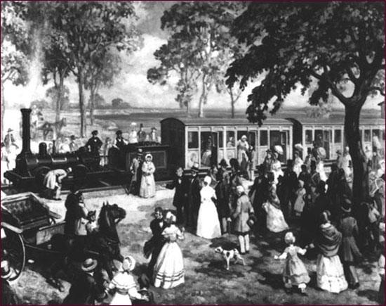 Voyage du 15 octobre 1851 st lawrence and atlantic for Club piscine st jean richelieu